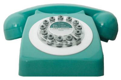 Telefon türkis